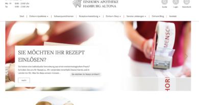 Einhorn-Apotheke in Hamburg Altona