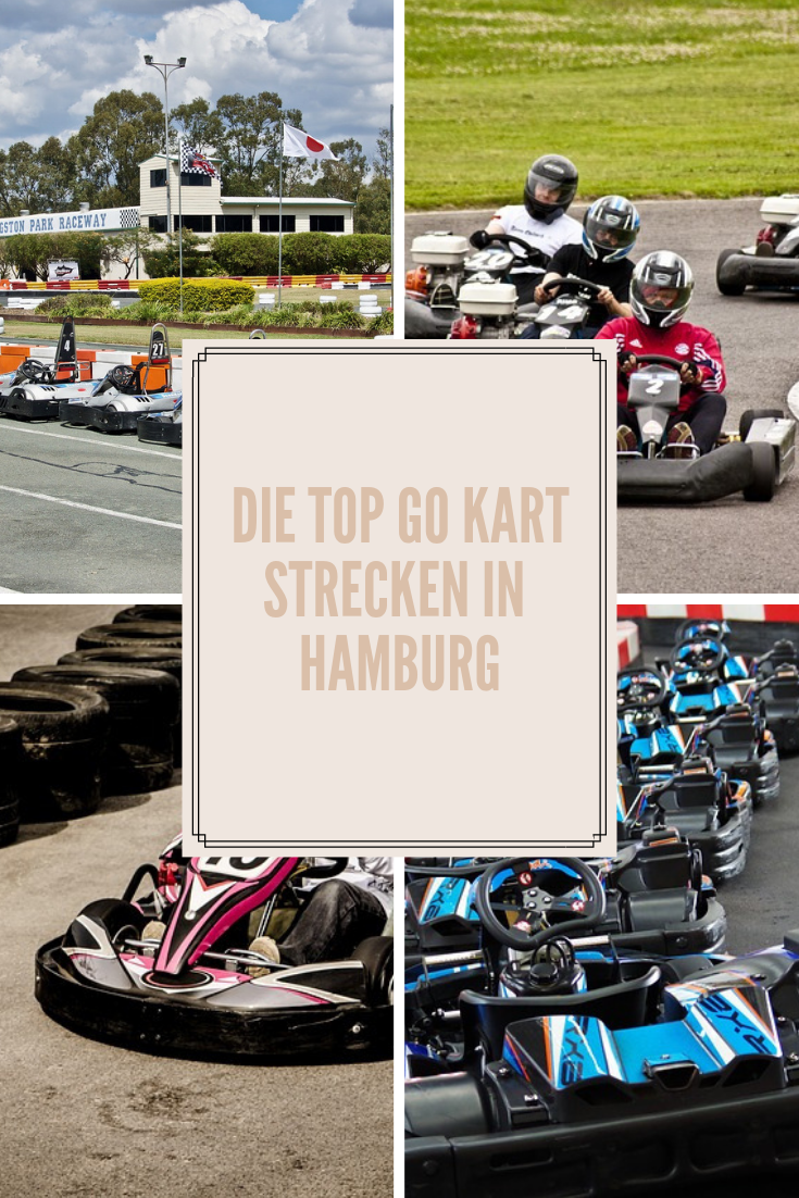 Die TOP GO Kart Strecken in Hamburg