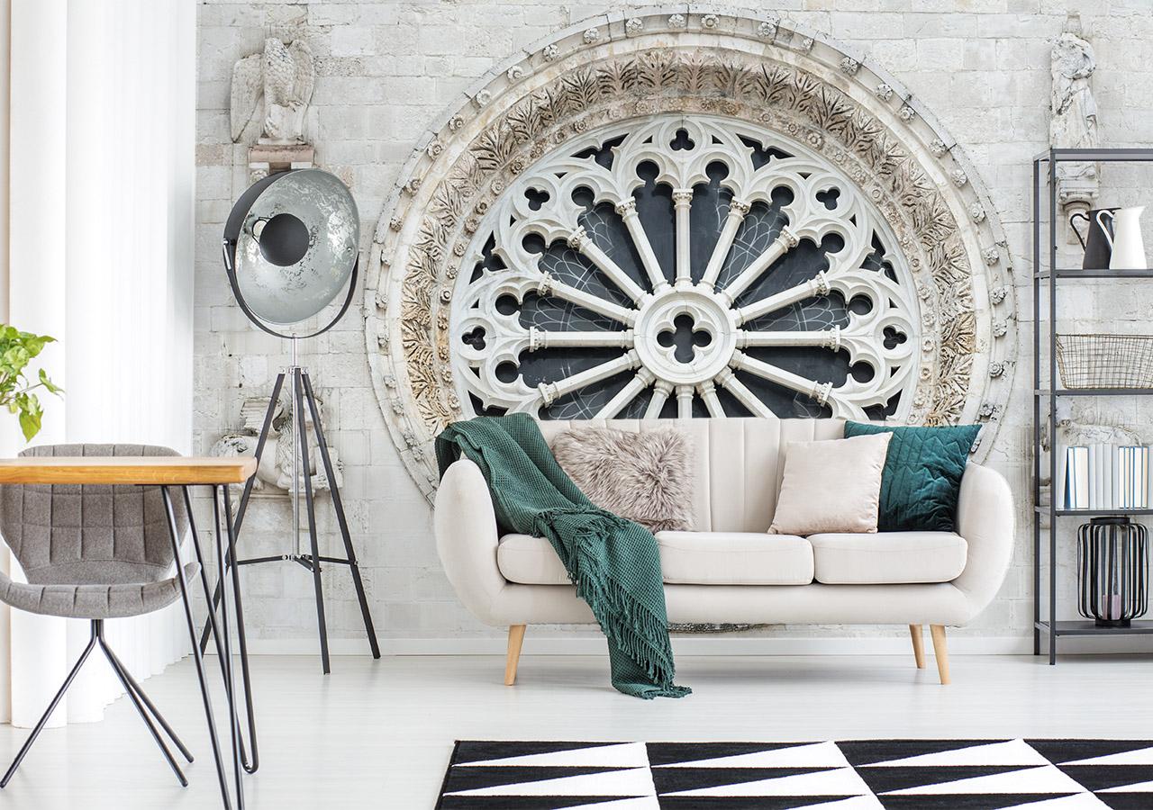 Fototapete Wohnzimmer Architektur