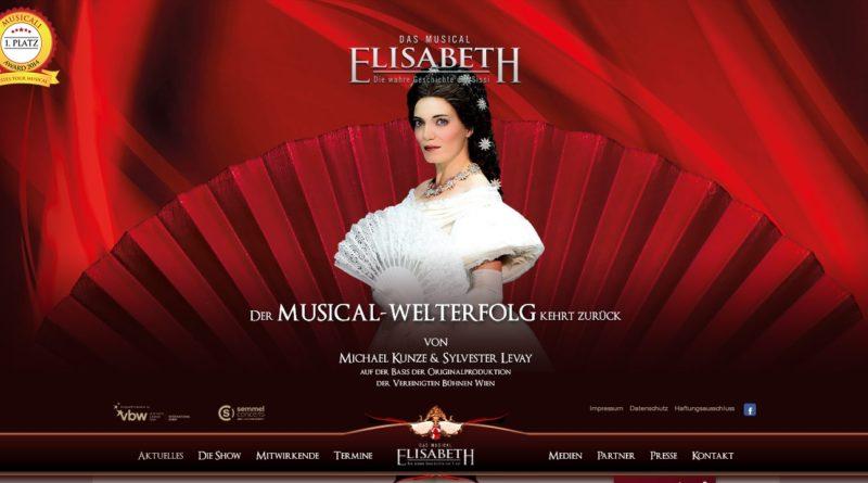 """Bis 27.03.2016: """"Elisabeth - Das Musical"""" am Großmarkt"""