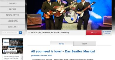 23.03.2016: Beatles-Musical im CCH