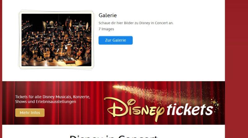 15.05.2016: Disney In Concert in der Barclaycard-Arena