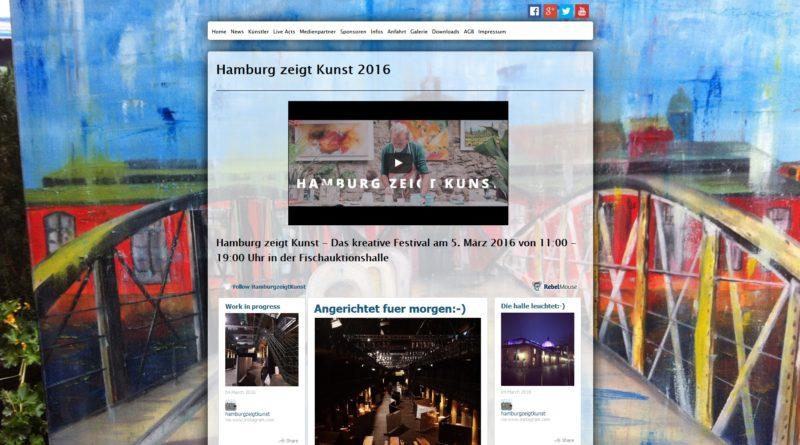 05.03.2016: Hamburg zeigt Kunst in der Fischauktionshalle