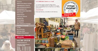 12. + 13.03.2016: The Collectors Antique, Design & vintage market