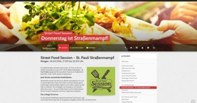 Jeden Donnerstag: Street Food Session auf St. Pauli