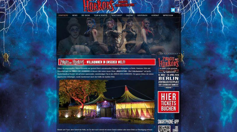 """04.-06.05.2016: """"Zirkus des Horrors"""" auf der Horner Rennbahn"""