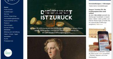 Mai 2016: Kostenloser Eintritt in die Hamburger Kunsthalle