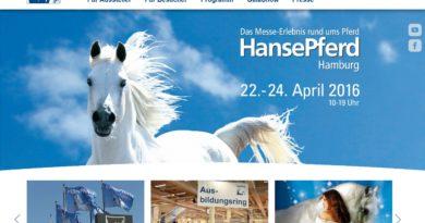 22. - 24.04.2016: HansePferd auf dem Hamburger Messegelände