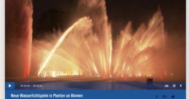 Ab 01.05.2016: Wasserlichtkonzerte in Planten un Blomen