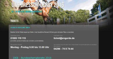 04.-08.05.2016: Deutsches Spring- und Dressur-Derby 2016