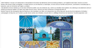 08.05.2016: Tag der Offenen Tür in der Blauen Moschee