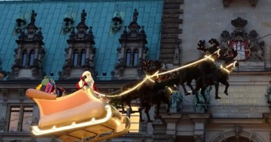 Winter in Hamburg - Weihnachtsmärkte & Dom