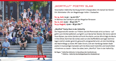 Wortflut Poetry Slam in der Hafencity