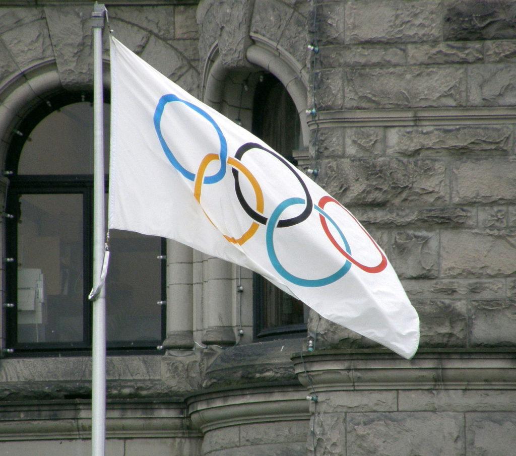 Flagge Olympische Spiele