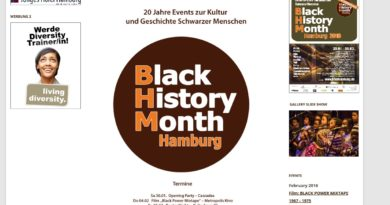 Black History Month bis 05.03.2016