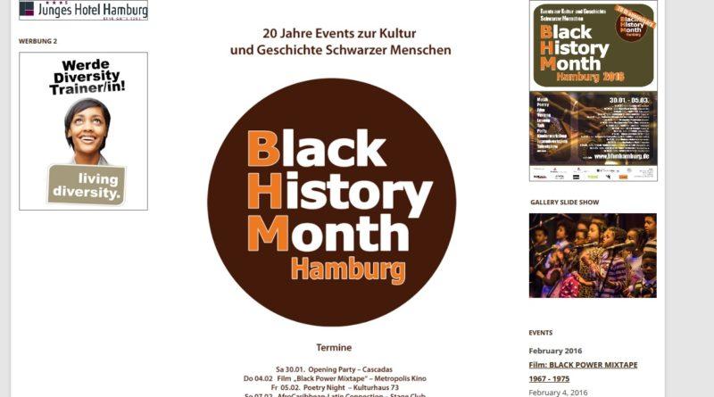 Black History Month bis 05.03.2016