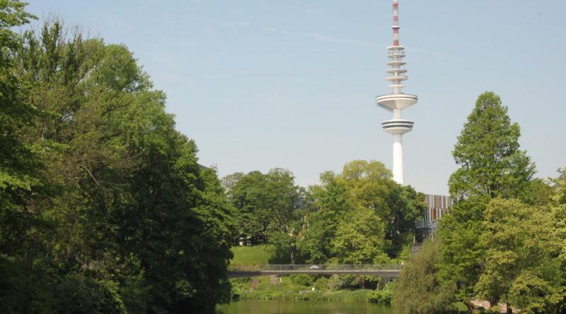 Der Blick auf den Fernsehturm