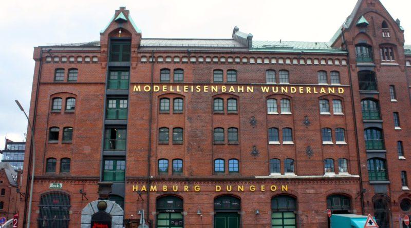Altes Gebäude in Hafen City