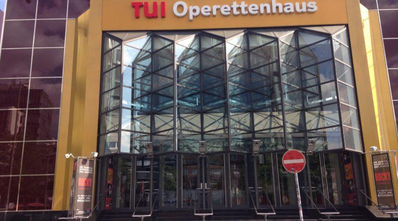 TUI Operettenhaus Frontalansicht