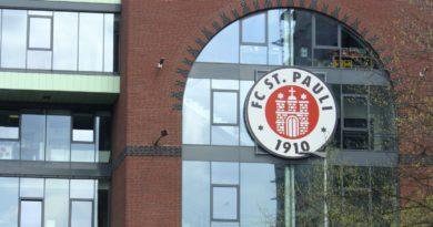 Eingang zu FC St. Pauli Stadion