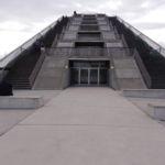 Die langen Treppen auf