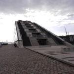 Dockland-Gebäude auf der Elbe