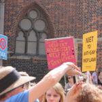 Das Demonstrieren verlief gut