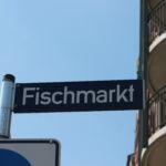 Fischmarkt Straßenschild