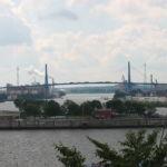 Ausblick auf die Köhlbrandbrücke