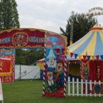 Das Zelt des Circus Quaiser