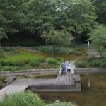 Familien schätzen die Ruhe im Park sehr