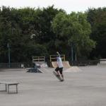Ein Skater in action