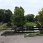 Der Park ist ganz schön groß und bietet viele schöne Orte zum Verweilen