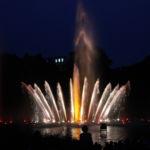 Die Wasserlichtspiele am Abend 8