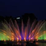Die Wasserlichtspiele am Abend 9