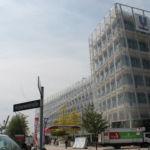 Blick auf das Unilever Haus