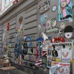 Bunt bemalte Fassaden sind häufig im Schanzenviertel anzutreffen