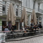 Blick auf das Restaurant Moraba