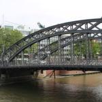 Blick auf die Brooksbrücke