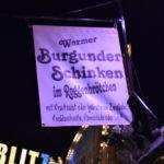 Ein beliebter Snack: Burgunder Schinken im Brötchen